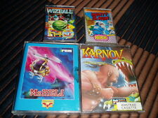 Amstrad cpc 464 - 4 games: Mr. Heli, Monty on the Run, Wizball & Karnov