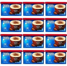12 Maxwell House MOCHA LATTE Coffee Creamer Drink Mix Cafe-Style Beverage Mix