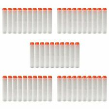 100pcs 7.2cm Toy Gun Refill Bullet Darts Nerf N-strike Series Fluorescence Pop