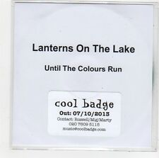 (FO272) Lanterns On The Lake, Until The Colours Run - 2013 DJ CD
