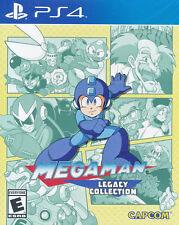 Mega Man Legacy Collection PS4 Game NEW English Portuguese Spanish German French