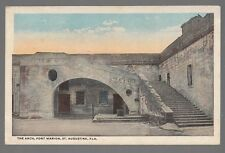 [50978] OLD POSTCARD THE ARCH AT FORT MARIAN in ST. AUGUSTINE, FLORIDA