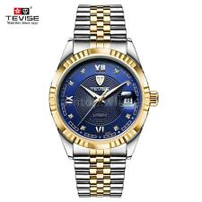 TEVISE Luxury Automatic Mechanical Watch Luminous Business Men's Watches U9W4