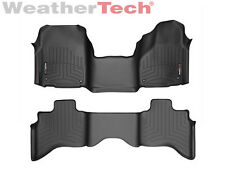 WeatherTech FloorLiner for Dodge Ram 1500 - Quad Cab - OTH - 2012-2017 - Black