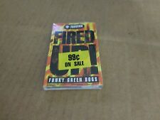 FUNKY GREEN DOGS FIRED UP!  FACTORY SEALED CASSETTE SINGLE