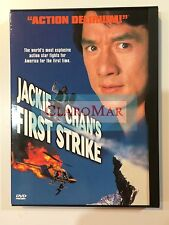 ☀️ Jackie Chan's First Strike DVD Full & Widescreen French Audio R1 MINT