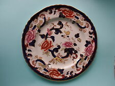 "Vintage Mason's Ironstone Blue Mandalay 10.5"" Plate"