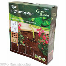 18PC RECYCLED RAIN WATER IRRIGATION KIT WATERING SYSTEM AUTOMATIC PLANT WATERING
