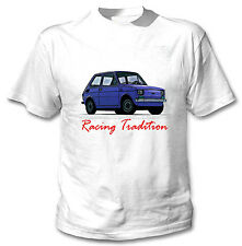 POLISH MALUCH BLUE INSPIRED RACING TRADITION - WHITE COTTON TSHIRT