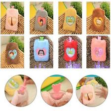 Portable Mini Cute Cartoon Hot Water Bag Bottle Fluffy Plush Warm warmer Hand GC