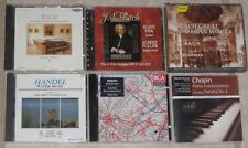 A Collection Of 7 Classical Music CDs - Bach, Handel, Chopin, Debussy, & More!