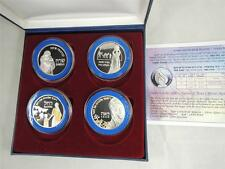 MOTHERS IN THE BIBLE SARAH, REBECCA, RACHEL,LEAH 4 MEDALS 40mm 4X20g PURE SILVER