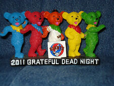 S F Giants Grateful Dead Dancing Bears SGA + Free Jerry Garcia Bobblehead 8-1-12