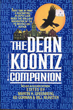 The Dean Koontz Companion-Greenberg, Ed Gorman, Bill Munster-1st Berkley Ed