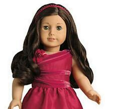 American Girl ROSY RED HOLIDAY DRESS OUTFIT with SHOES & CHARM ~NIB~Valentine's