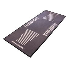New Bike Tek Motorcycle Workshop Pit Garage Showroom Mat Triumph Grey