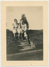 Foto Arbeitsmänner -RAD 1/161 Liebau -Schlesien  (g880)