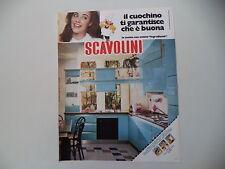 advertising Pubblicità 1982 CUCINE SCAVOLINI