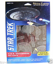 METAL EARTH STAR TREK THE NEXT GENERATION USS ENTERPRISE NCC-1701-D - BRAND NEW