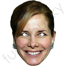 Darcey Bussell Strictly Come Dancing Celebrity Card mask. All Masks Are Pre-Cut
