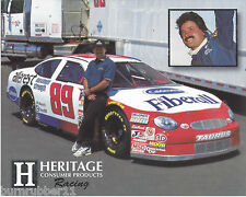 """1997 JEFF FULLER """"HERITAGE CONSUMER PRODUCTS"""" #89 NASCAR BUSCH SERIES POSTCARD"""