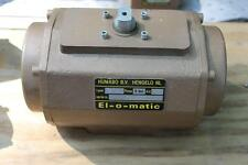 EL-O-MATIC  PNEUMATIC ACTUATOR  EL O MATIC  TYPE PE 15 120 PSI