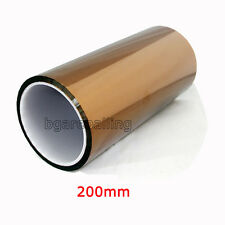 200mm X 100ft Kapton Tape BGA High Temperature Heat Resistant Polyimide US stock