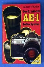 Canon AE1 Buch von Günter Richter und die AT1