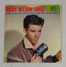 RICKY NELSON SINGS IMPERIAL PICTURE SLEEVE HAVE I TOLD YOU LATELY THAT I LOVE