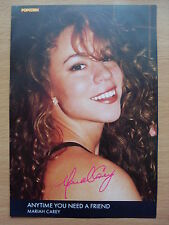 Mariah Carey - Anytime You Need A Friend - Lyric Card + Autograph
