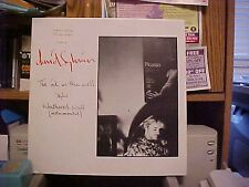 """David Sylvian Ink In The Well POSTER SLEEVE Uk 12"""""""