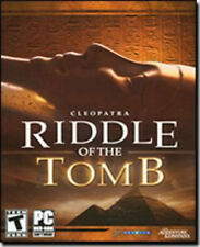 NEW! RIDDLE OF THE TOMB Adventure for PC SEALED NEW
