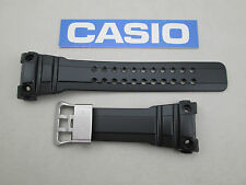 Casio G-Shock Gulfmaster GWN-1000B watch band strap black resin rubber