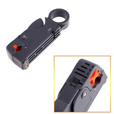 Rotary Coax Coaxial LNB Cable Cutter Stripper Tool RG58 RG6 RG59 Quad Shield