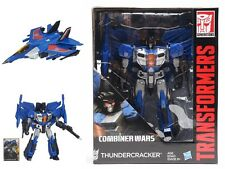 Transformers Hasbro Combiner Wars IDW Leader Class L THUNDERCRACKER Spielzeug