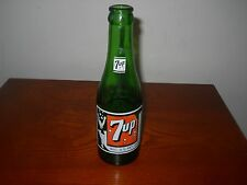 VINTAGE BUBBLE GIRL 7 UP 7oz.  SODA POP BOTTLE~ ANCHORAGE, ALASKA~.1951~ NICE!