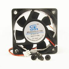 60mm 25mm New Case Fan 24V DC PC 25CFM Sleeve Brg 2Wire Cooling 6025 336*