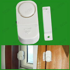 2x Wireless Door & Window Entry Alarm Set, Home Office, Burglary Security Sensor