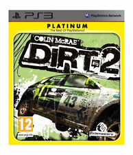 COLIN McRAE DIRT 2 Platinum Edition Sony PS3 Playstation New UK Release Sealed