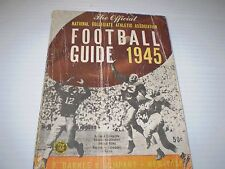Vintage 1945 S Barnes & Co. New York / Football Guide Booklet