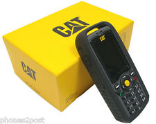 NEW CAT B25 Caterpillar Ruggedised IP67 Tough Phone SIM Free Unlocked UK STOCK