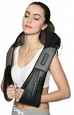 Nekteck Shiatsu Deep Kneading Massage Pillow With Heat, Car/Office Chair Neck,