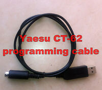 Yaesu CAT programming cable CT-62 * FT-100, FT-817, FT-857, FT-897 - USB to TTL