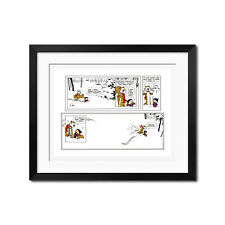 Calvin and Hobbes Let's Go Exploring 22.5x30 Poster Print