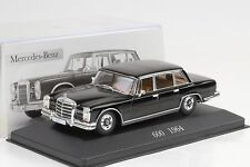 1964 Mercedes-Benz 600 w100 Noir 1:43 IXO ALTAYA COLLECTION