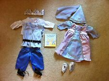 American Girl Bitty Baby Twin Prince & Princess Royalty 2 Outfits Set Retired