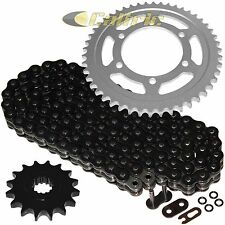 Black O-Ring Drive Chain & Sprockets Kit Fits YAMAHA R6 YZF-R6 2003 2004 2005