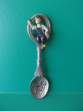 "Country Store Pewter Spoon Advertising ""DUTCH BOY"" 5""IN"