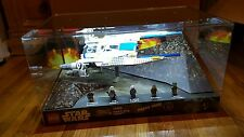 Star wars lego store display rebel u wing fighter 75155 with extra figures