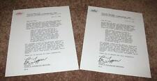 "The Beatles ""Yesterday and Today"" Reproduction ""Butcher Cover Recall Letters"""